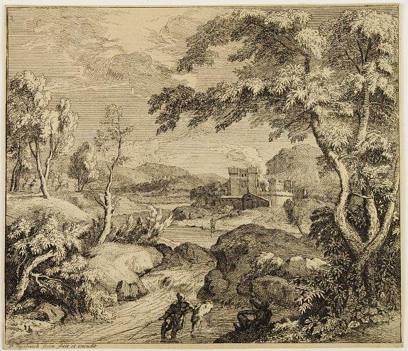 Pieter Rijbrack (1655-1729). - Landscape.