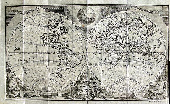 VAN DER AA, P. - Orbis Terrarum Nova et Accuratissima Tabula