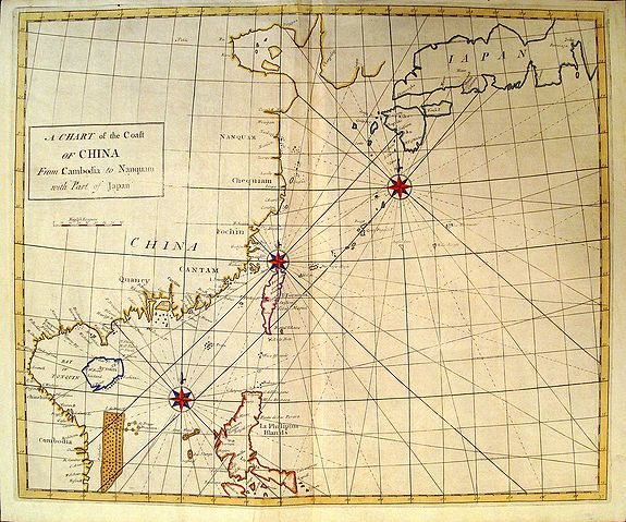 HALLEY, E. - A Chart of the Coast of China.