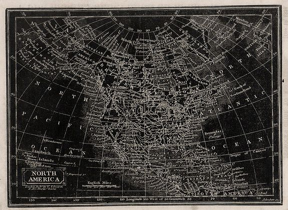 ARCHER, J. - (2 maps) North America / South America.