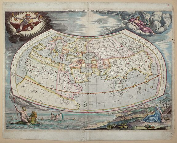 MERCATOR,  G. - Universalis Tabula juxta Ptolemaeum ...