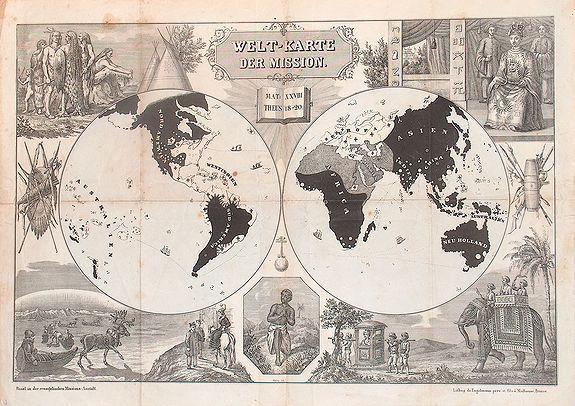 ENGELMANN - Welt-karte der Mission.
