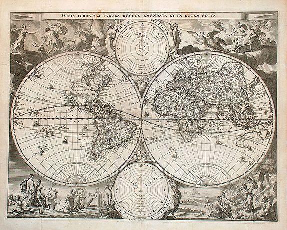 Hendrik and Jacob Keur - Orbis Terrarum Tabula. . .