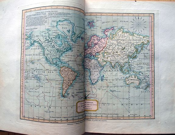 LAURIE, R. & WHITTLE, J. - Whittle and Laurie's new and accurate general atlas: chiefly intended for the use of schools, and convenience of gentlemen's libraries: also to accompany the various geographical grammars, dictionaries, &c. comprising all the new discoveries to the pres