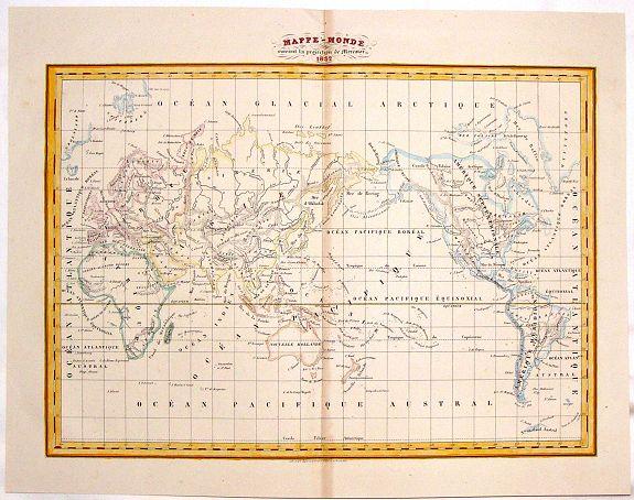LEJEUNE, T. - Mappe-Monde.