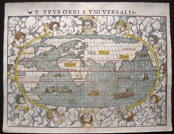 MÜNSTER, S. - Typus Orbis Universalis