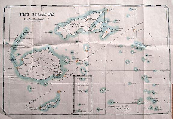 WATERLOW & SONS - Fiji Islands.