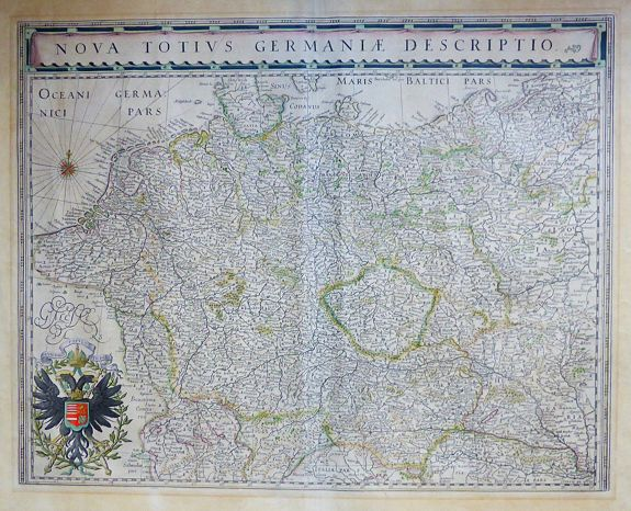 BLAEU, W. / J. - Nova Totius Germaniae Descriptio.