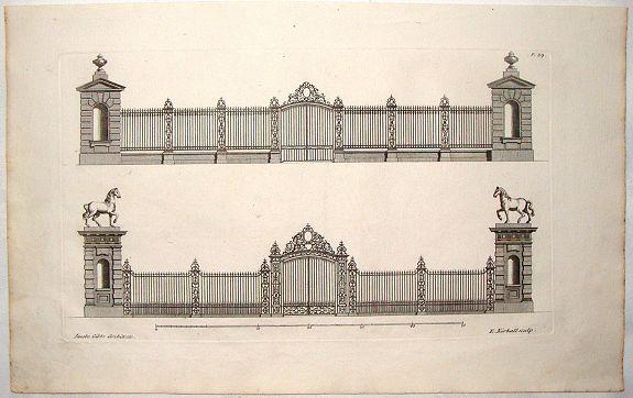 GIBBS, J. - Architectural Iron Fence & Gate by Gibbs.