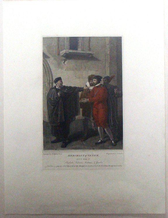 PARKER, J. - Boydell's Shakespeare - Merchant of Venice.