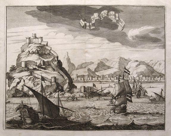 DAPPER, O. - De Hock van Aden mt Rode Meer.