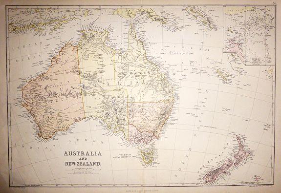 WELLER, Edward - AUSTRALIA AND NEW ZEALAND