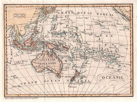 DUFOUR, Auguste-Henri - OCEANIE by Auguste-Henri Dufour.