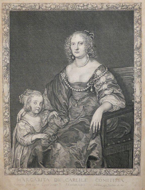 LOMBART, Pierre - Margarita de Carlile Comitissa.