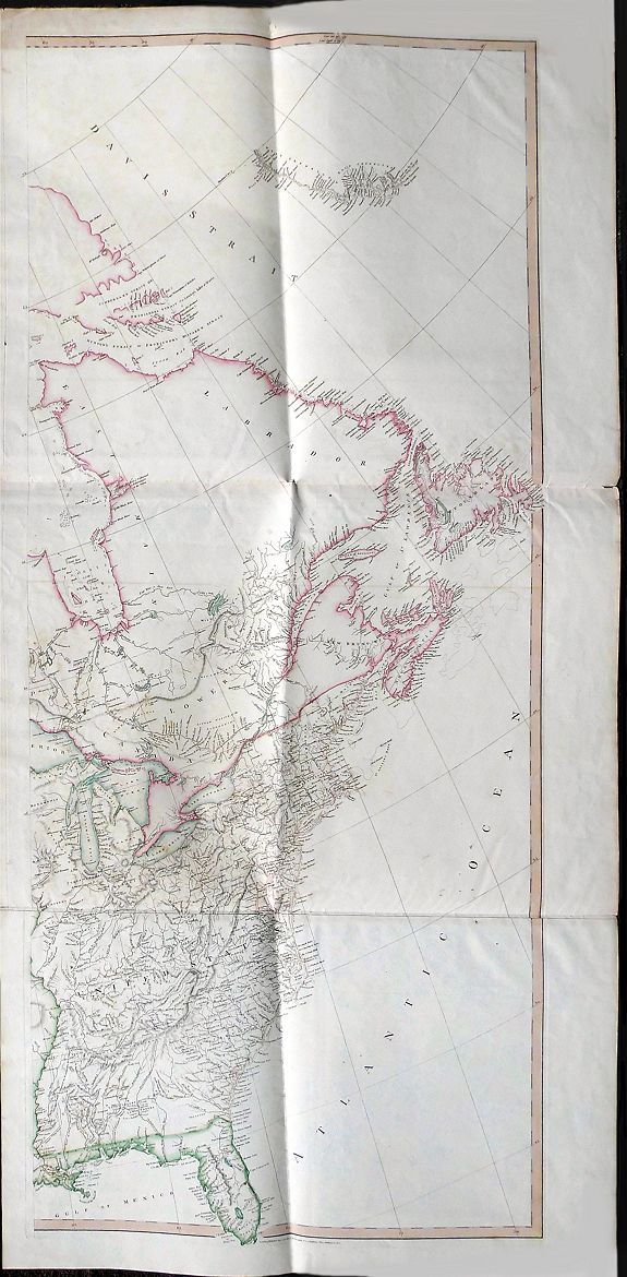 ARROWSMITH, A. - A Map Exhibiting all the New Discoveries in the Interior Parts of North America...