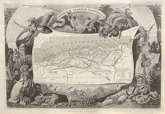 LEVASSEUR, V. - Algerie Colonie Française.