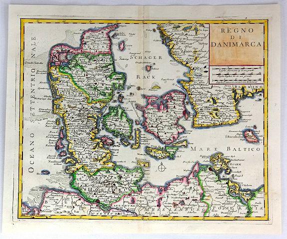 ALBRIZZI, G.  - Regno Di Danimarca.