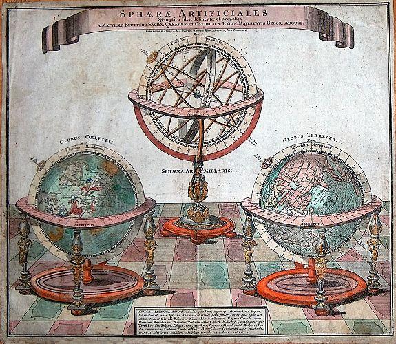 SEUTTER, M. - Sphaerae ArtificialesSynoptica Idea delineatae et propositae.