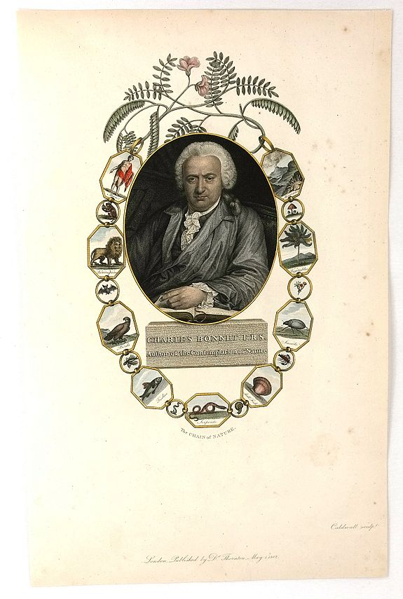 CALDWALL. - Charles Bonnet, F.R.S., Author of the Contemplation of Nature