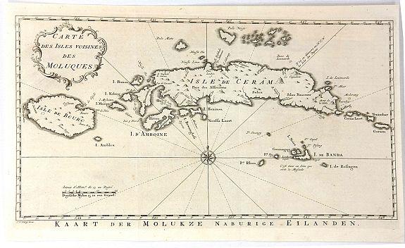 BELLIN, J., - Carte des isles voisines des Moluques