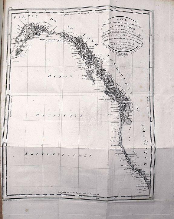 VANCOUVER, G. - Voyage de découvertes, a l'Océan Pacifique du nord, et autour du monde...