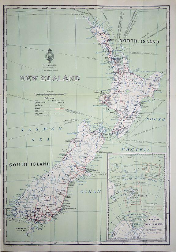 H .E. Walshe  - New Zealand