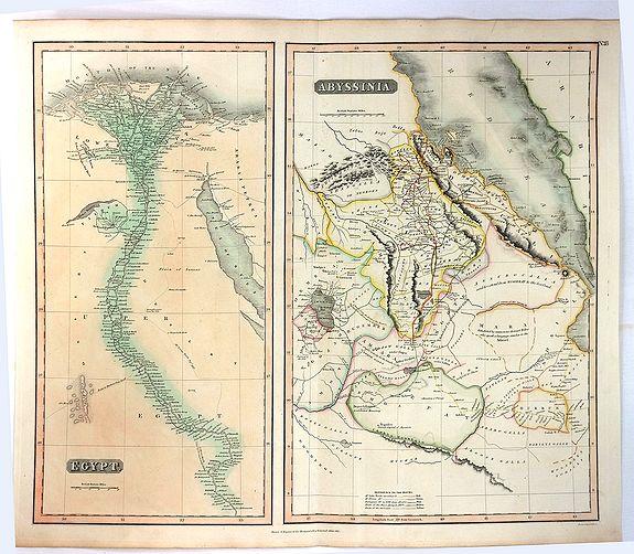 THOMSON, J. - Egypt & Abyssinia