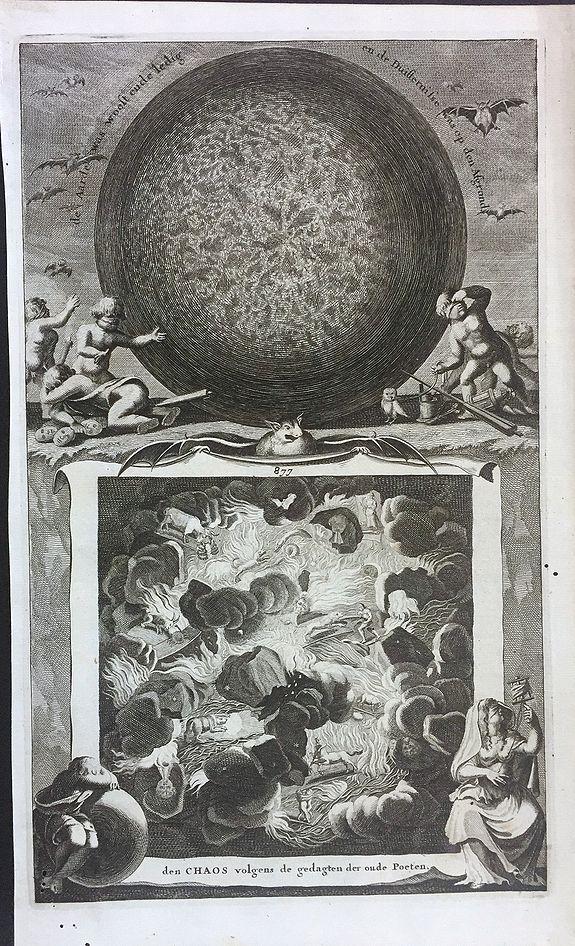 GOEREE, W. - Den Chaos volgens de gedagten der oude Poeten (Chaos according to the ideas of the ancient poets)