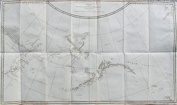 COOK, J. - Chart of the NW Coast of America and NE Coast of Asia explored in the Years 1778 & 1779...