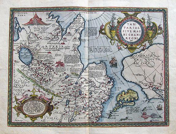ORTELIUS, A. - Tartariae sive Magni Chami Regni typus.