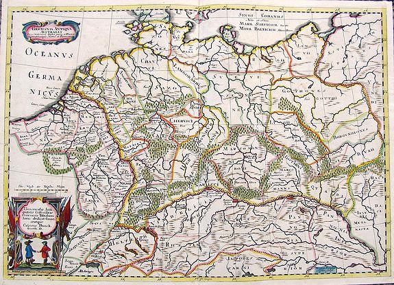 DANCKWERTH, C. - Germania Antiqua Australis...