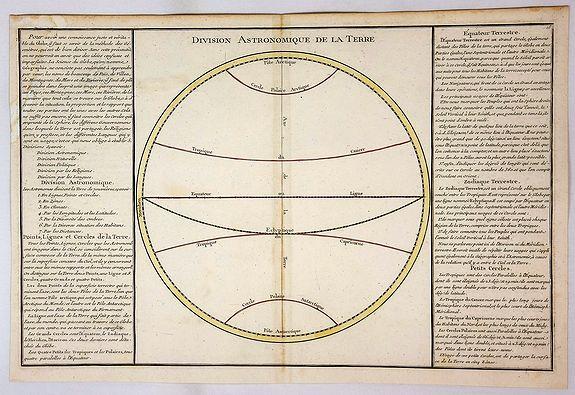 DE MORNAS / DESNOS. - Division Astronomique de la Terre.