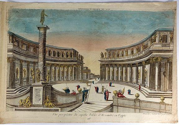 CHEZ MONDARE. - Vue Perspective du Superbe Palais d'Aexandre en Egypte.