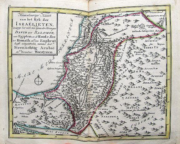 BRUYN, M. de - Bybelsche Huis en Zak-Atlas....