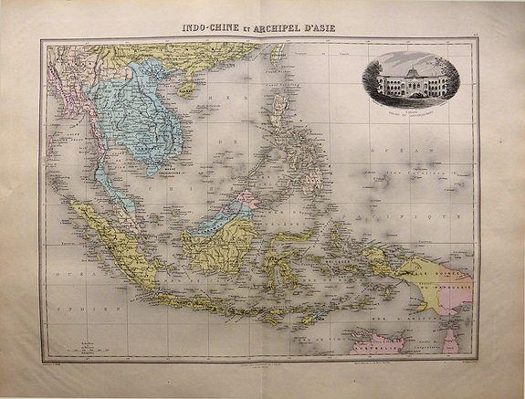 MIGEON, J. - Indo-Chine et Archipel D'Asie.