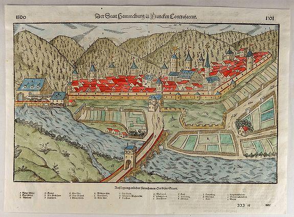 Munster Die Statt Hammelburg In Francken Conerafaccur