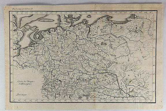 FILLOEUL. - Carte de l'Empire d'Allemagne.