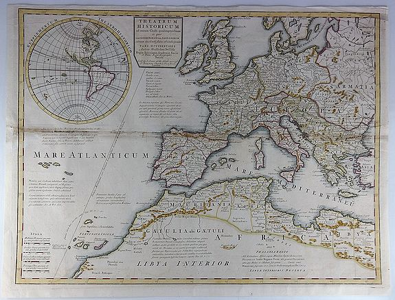 SENEX, J. - Theatrum historicum ad Annum Christi Quadringentesimum…