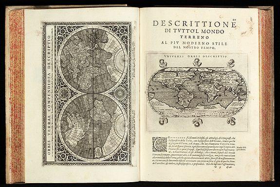 MAGINI, G.A. - Geografia cioe Descrittione Universale della Terra ... Nuovamente ... Rincontrati, & Corretti ... Gio. Ant. Magini ... Opera ... Tradotta dal R.D. Leonardo Cernoti